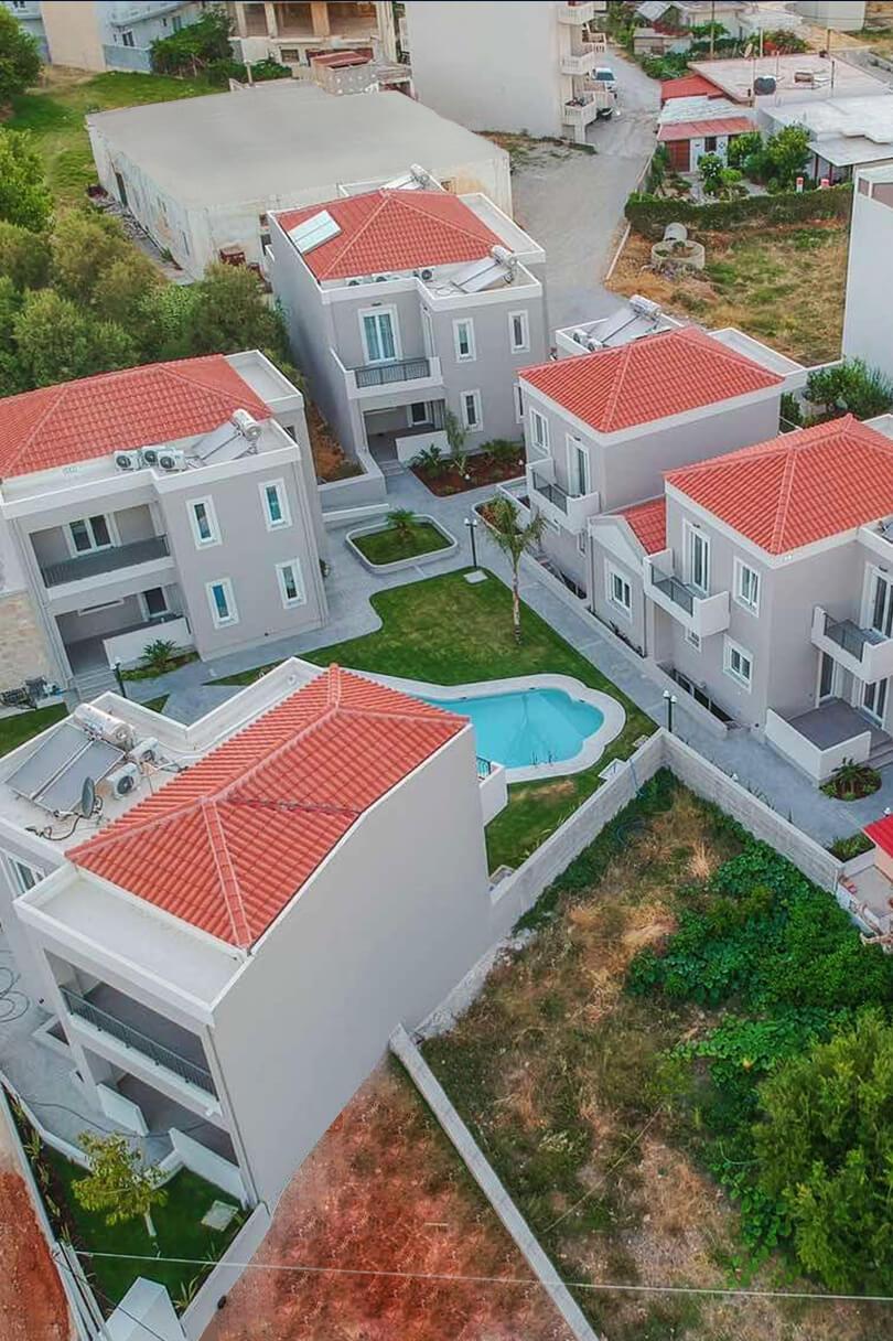 Luxury villas for rent in Kissamos